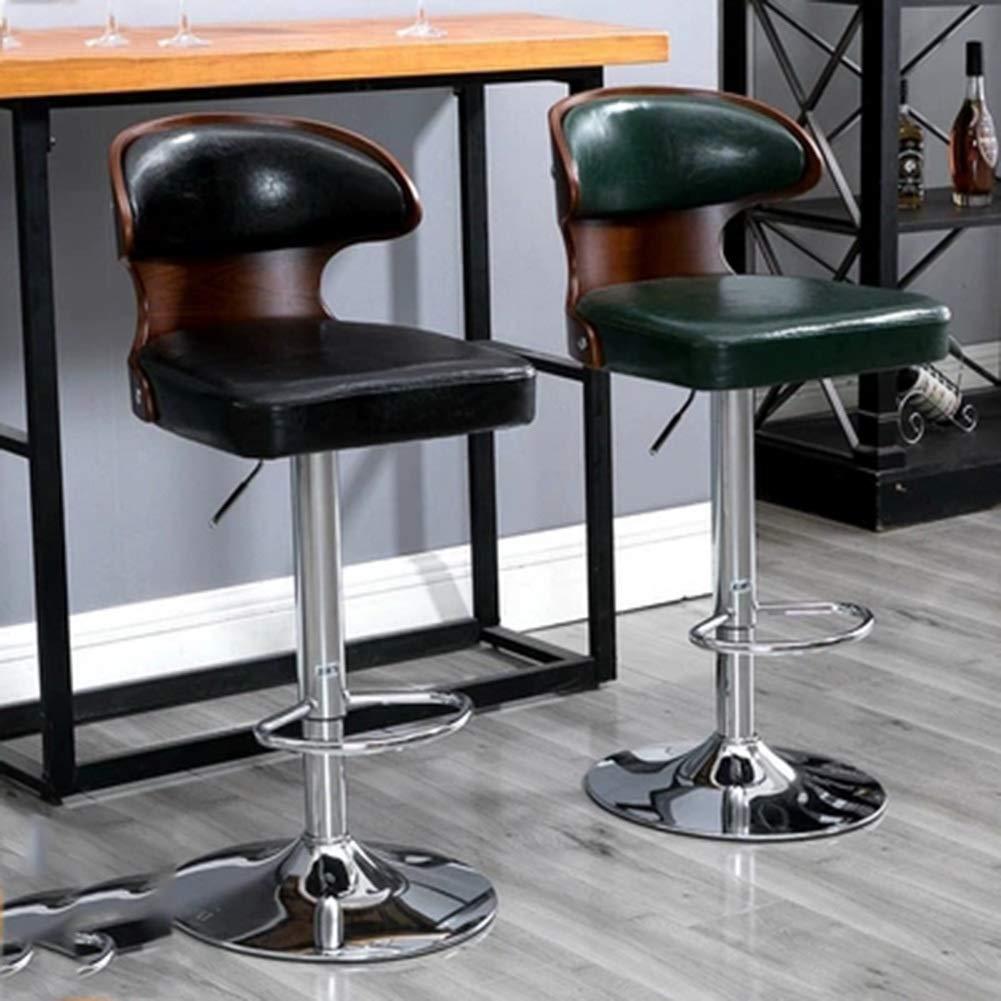 Amazing Amazon Com B Ydcm Bar Stools Adjustable Swivel Gas Lift Creativecarmelina Interior Chair Design Creativecarmelinacom