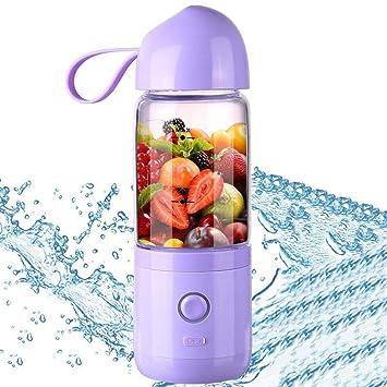 GGKLY Licuadora Portátil, USB Botella Licuadora Pequeña, con ...