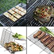 WolfWise-Portable-Barbecue-BBQ-Grilling-Basket