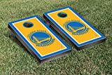 Golden State Warriors NBA Basketball Cornhole Game Set Border Version