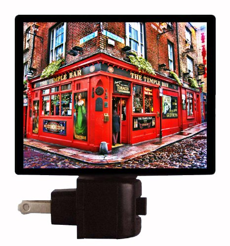 Travel Night Light - The Temple Bar - Dublin, Ireland by Night Light Designs