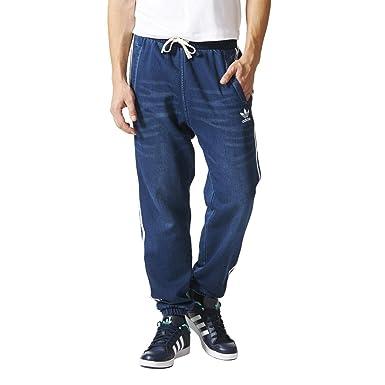 89efe0fc adidas - Sweatpants & Tights - French Terry Denim Track Pants - Medium Blue  Denim - XS: Amazon.co.uk: Clothing