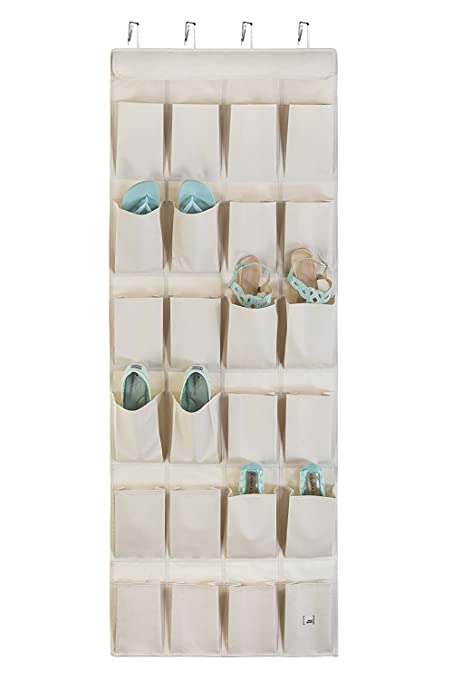 Beautiful Mindspace Over The Door Shoe Organizer   Hanging Shoe Rack Closet Organizer  U2013 Large Shoe Storage