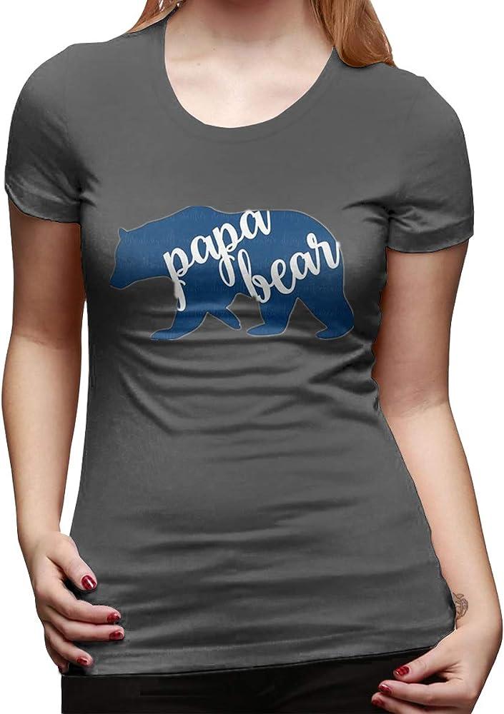 Nutmix Papa Bear Versatile Summer Tshirts