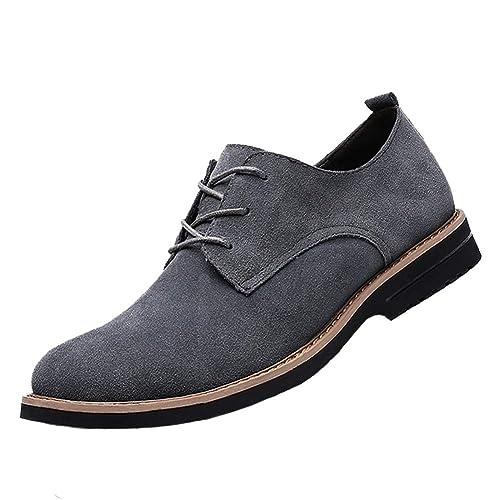 [SWIFTBIRD] スエードシューズ 本革 メンズ カジュアル靴 ビジネスシューズ 通勤用 スウェード メンズブーツ ショートブーツ ブラック  グレー ブラウン 24.5cm,28.0cm