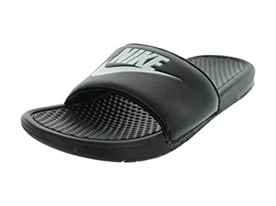 delicate colors stable quality online here Nike Men's Benassi Just Do It Slides: Amazon.co.uk: Shoes & Bags
