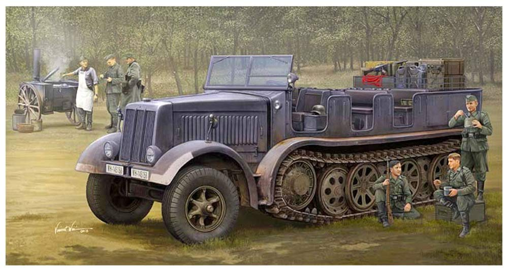1/35 SdKfz (DB9) Halftrack Artillery Truck