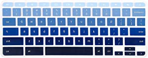 Keyboard Cover Compatible Acer Chromebook R 11 CB5-132T CB3-131,Acer Premium R11, Chromebook R 13 CB5-312T, Chromebook 14 CB3-431 CP5-471, Chromebook 15 CB3-531 CB5-571 C910 US Layout(Ombre Blue)