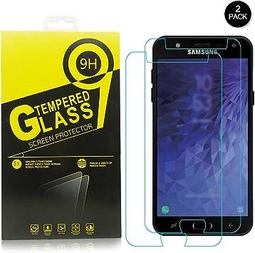 Samsung Galaxy J7 Duo Protector de pantalla,Libre de burbujas ...