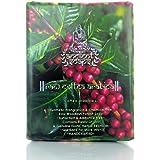 Ancient Ayurveda Antioxidants Genuine Raw Coffea Arabica Exfoliating Woodash Soap for all skin types.