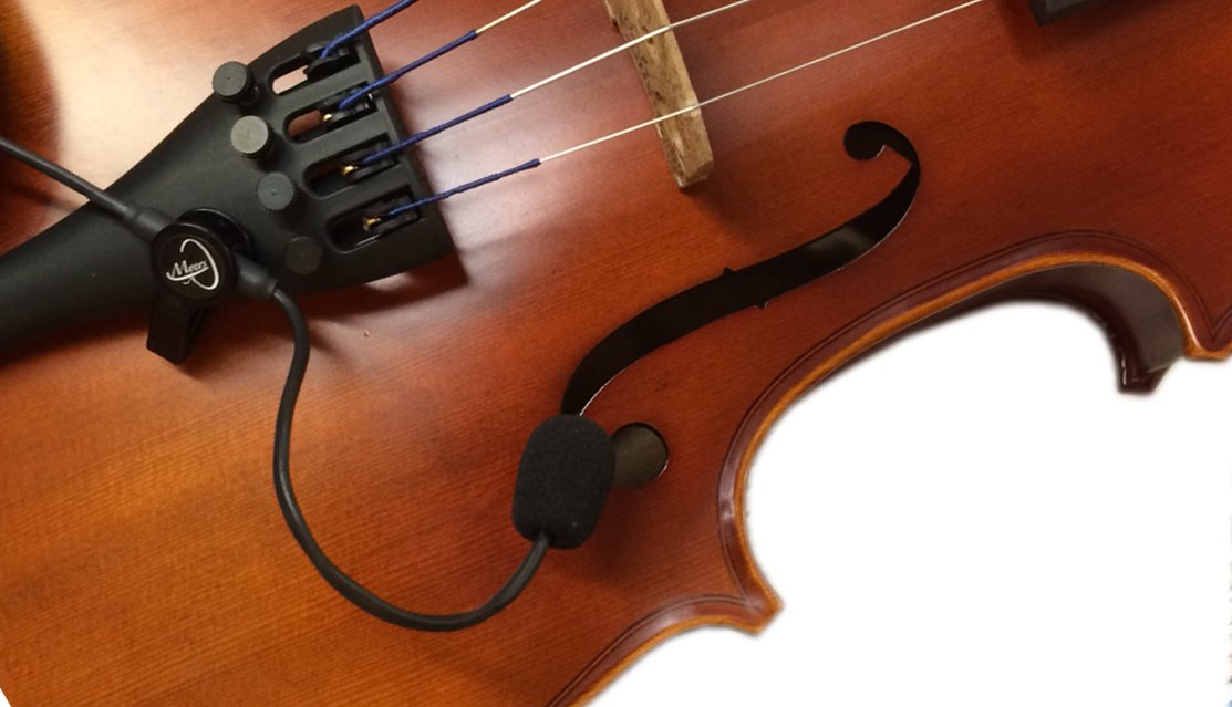 """""""THE FEATHER"""" VIOLIN PICKUP with FLEXIBLE MICRO-GOOSE NECK by Myers Pickups ~ See it in ACTION! Copy and paste: myerspickups.com 4334274432"""