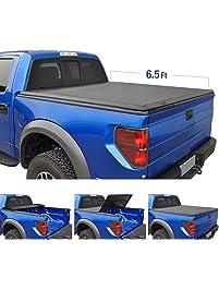 Tyger Auto TG-BC3F1020 Tri-Fold Pickup Tonneau Cover Fits 09-14 Ford F-150 w/o Utility Track 6.5 feet Tri-Fold Truck...