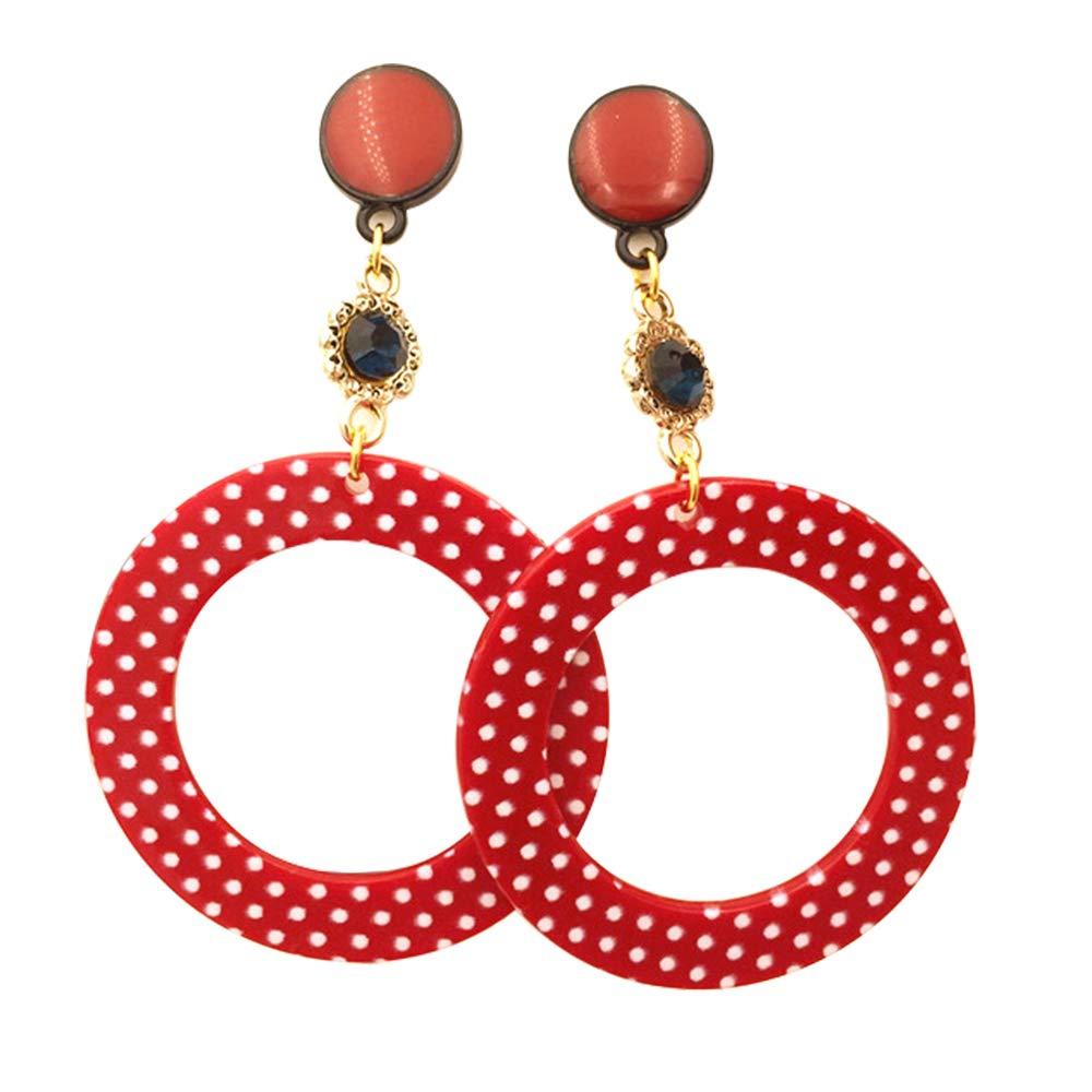 Fiesta de Juego Diadema y Guantes de los a/ños 50 Gafas Yansion 50s Accesorios de Disfraz Accesorios de Disfraces para Mujeres y ni/ños Bufanda Rojo Ojo de Gato