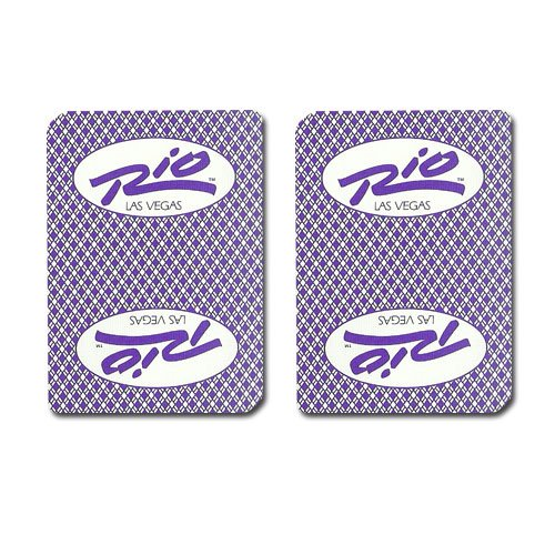 - Single Deck Used in Casino Playing Cards - Rio