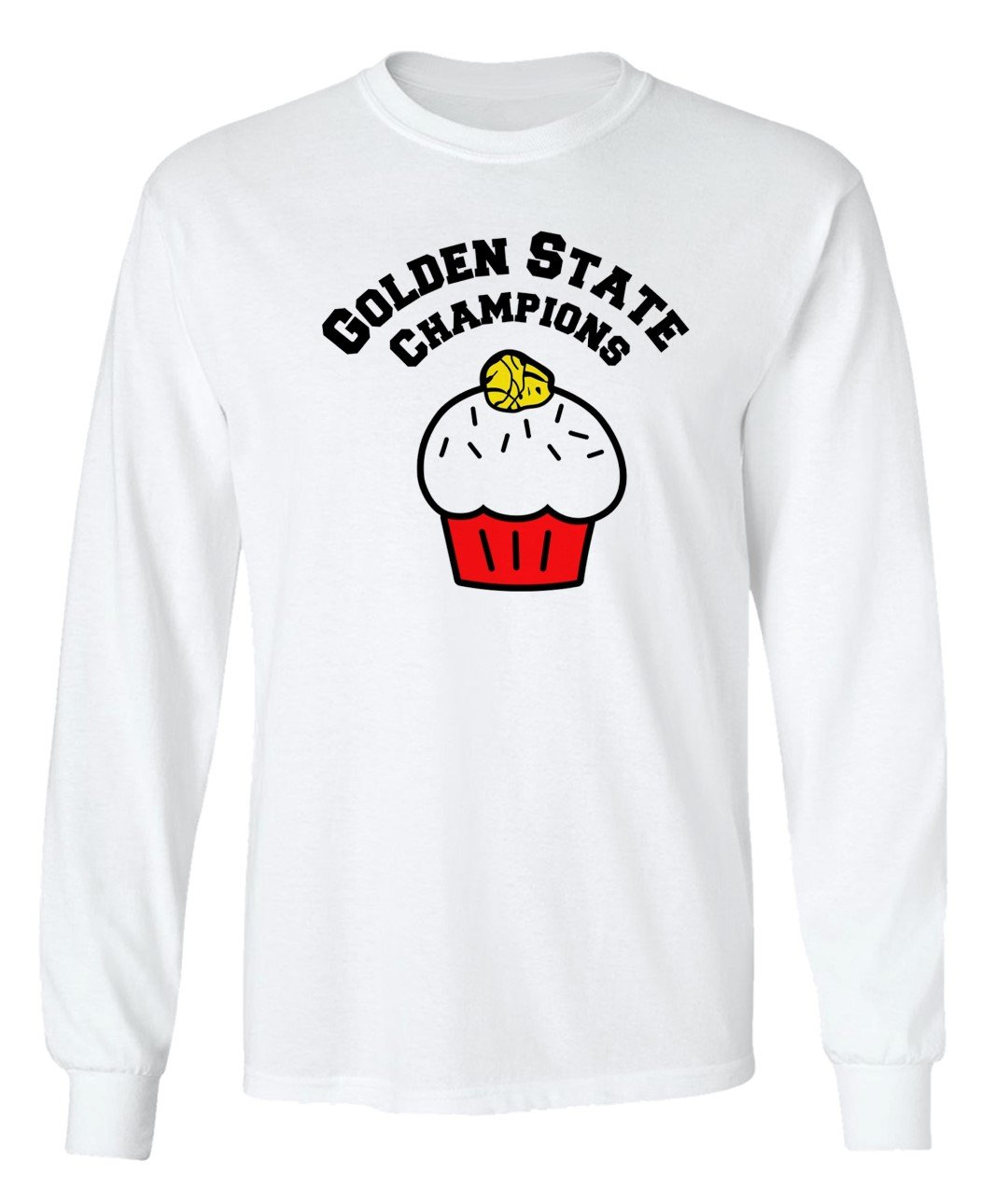 Warriors Cupcake With A Ring On Top Golden State Champions Graphic Design D Cre Shirts