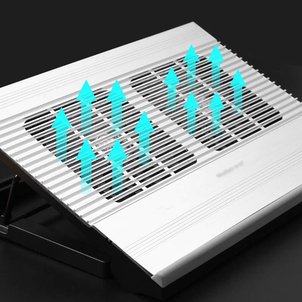 PANGU-ZC Laptop Cooler - Foldable Portable Dual USB Powered Dual Fan Design, Height Adjustable for 15.6'' by PANGU-ZC (Image #8)