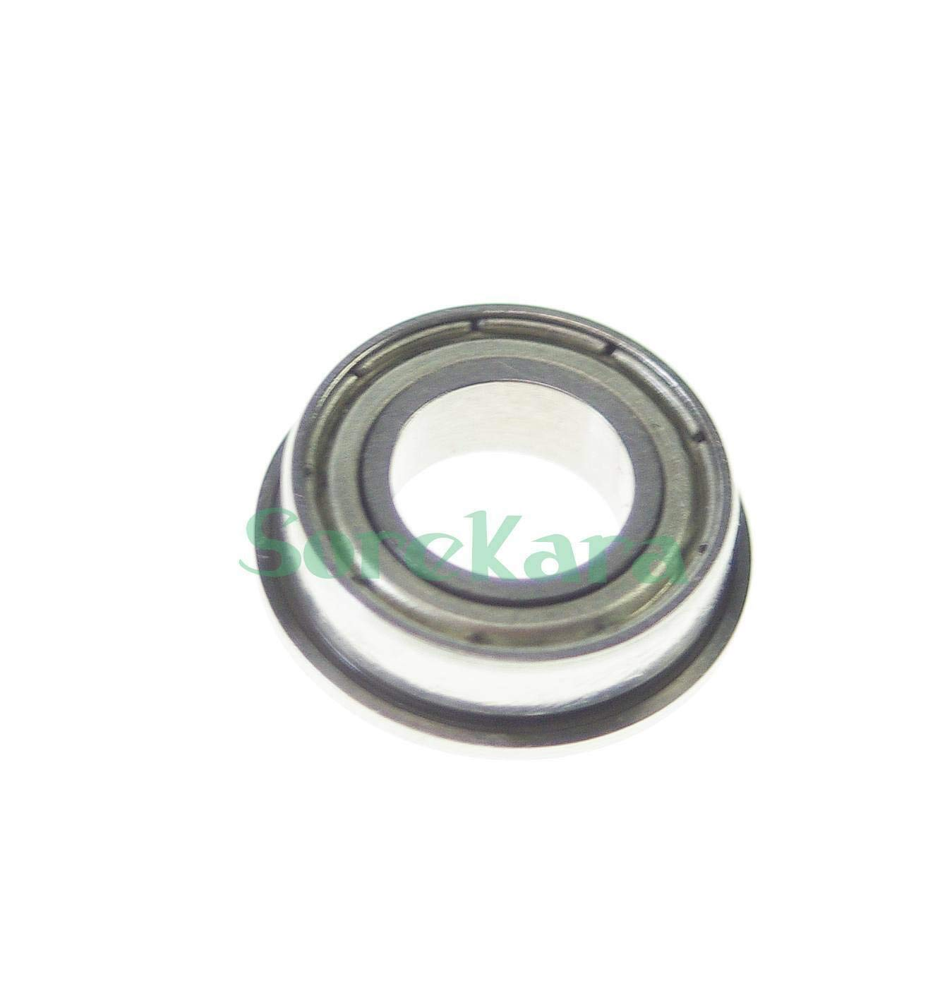 50 Bearing /& Bushing /  1//4 x 3//8 x 1//8 FR168ZZ Shielded Flanged Model Ball Flange Bearing