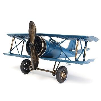 Large 8.5u0027u0027 Retro Airplane Aircraft Model ,Home Decor Ornament Toy,Home  Office