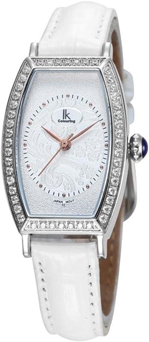 Relojes de cuarzo/Diamante forma femenina/Relojes de moda/ vidrio de reloj-I