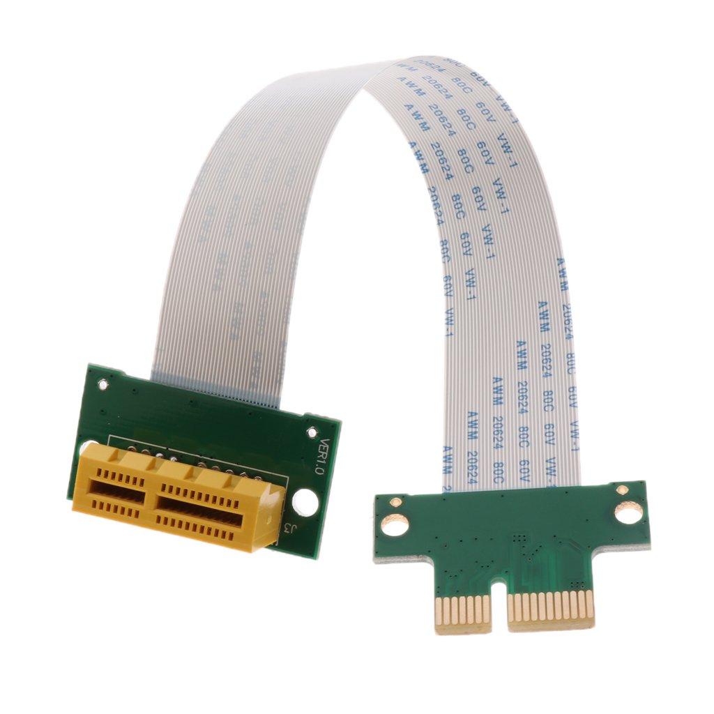 Tarjeta de Adaptador PCI-E PCI Express 1X Cable de Extensión ...