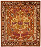 Homemusthaves Orange Red White Burgundy Super Soft Modern Shag Shaggy Modern Contemporary Area Rugs Living Room Carpet Bedroom Rug Home Decorator Floor Rug and Carpets Hand Carved (8×10 Feet) Review