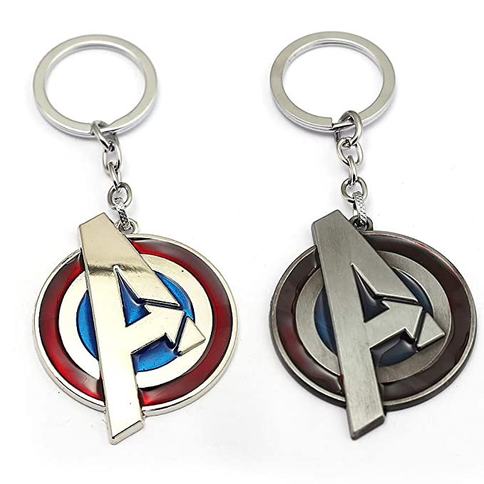 JLZK Avengers 4 Gauntlet Llavero Oro golve Thanos Axe ...