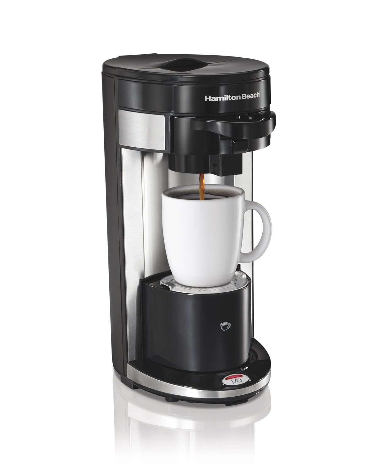 Hamilton Beach Single-Serve Coffee Maker, FlexBrew (49999A)