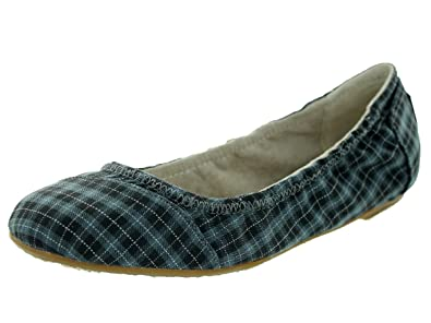10aea52fcff TOMS Shoes Women s Ballet Flat Black Grey Casual Shoe 6