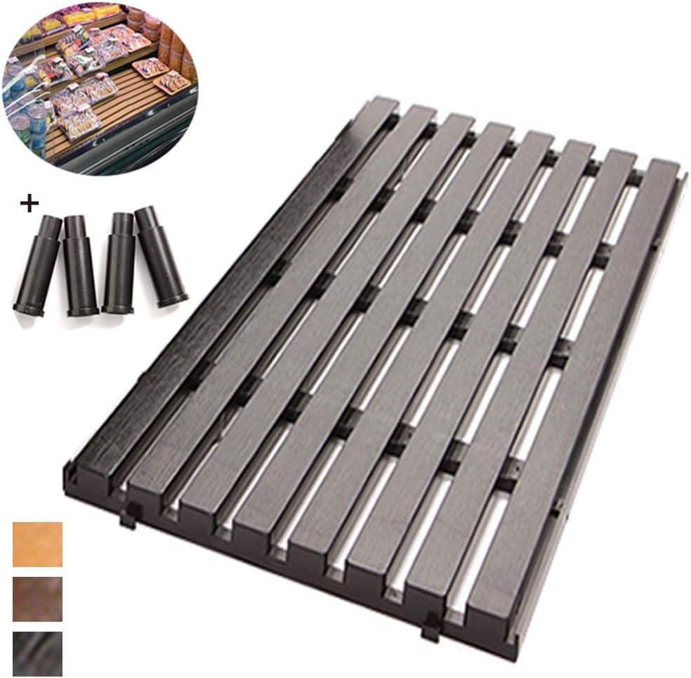 TP Palés Terraza Paletas De Plástico Diseño De Empalme De Material ABS De Extremidades Fuertes Estabilizadores Buen Efecto De Enfriamiento Adecuado para La Parte Inferior del Congelador En