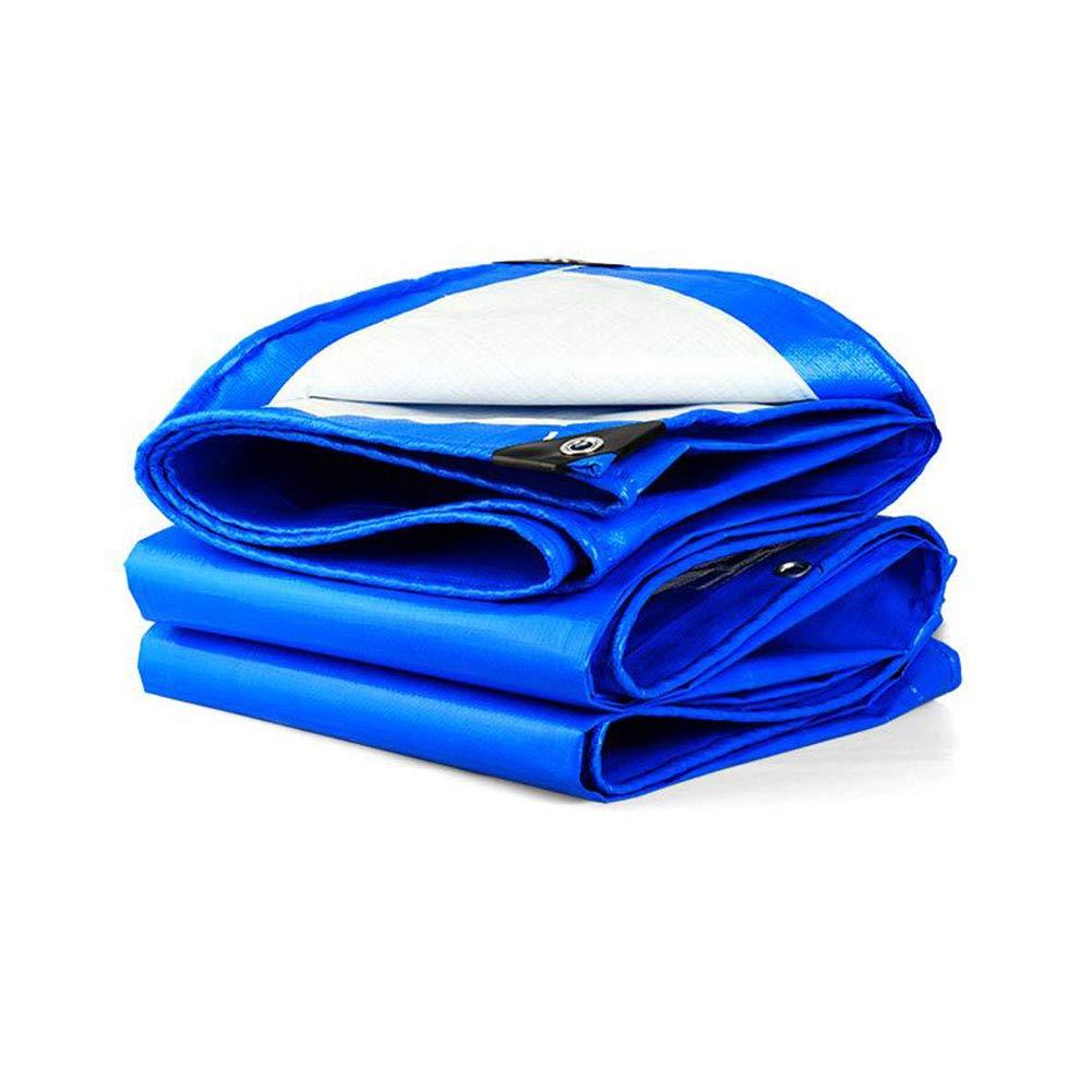 bleu 5x6m QYJpB Toile Antidérapante Rembourrée Extérieure BÂche De Prougeection Solaire De BÂche De BÂche De Prougeection De Tissu De Parasol Tissu Isolé De Voile De Tente Auvent (Couleur   bleu, Taille   4x5m)