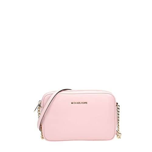 39a95bfb32 Michael Kors Borsa A Tracolla In Pelle Bedford Catena Fiore Pink Leather:  Amazon.it: Scarpe e borse