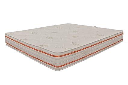 Miasuite - Materasso in Memory Foam 120x190 alto 25 Cm una piazza ...