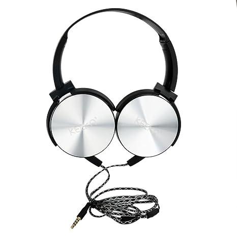 Amazon Com Wired Headphones Autumnfall Bass 3 5mm Earphone