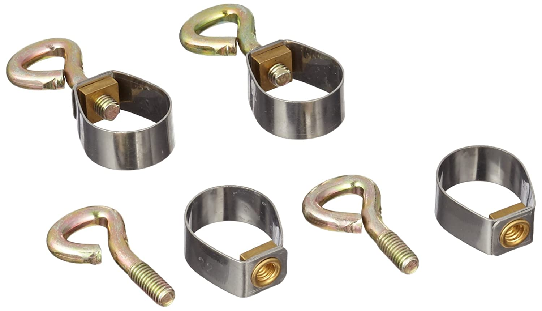 Brunner - Articoli da campeggio - Fascette per tubi, 22 mm, confezione SB da 5 pz, 610/202 Imp 5RS22KP