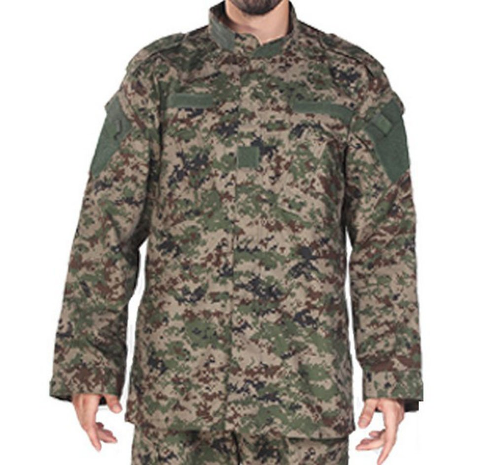 ACU Camo Large MUstBF Camouflage Military Uniform Hunting Wargame Paintball Jacket