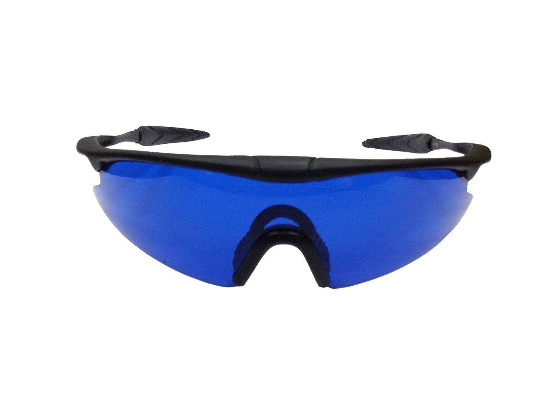 Posma GF100E Bundle set Golf Rangefinder High Definition Mini Monocular Pocket Scope + Golf Ball Finder Hunter Retriever Glasses by POSMA (Image #4)