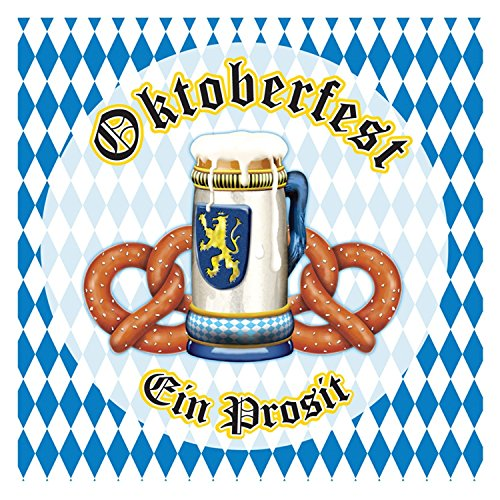 Beistle 58169 Oktoberfest Beverage Napkins (48-Count)