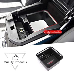 CHEYA for Land Rover Range Rover Vogue/Sport 2013-2017 ABS Car Center Console Armrest Storage Box Phone Tray Glove Organizers Box,with Refrigerator
