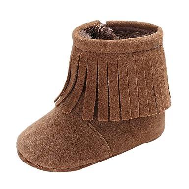 check out 68775 3daa6 Ears Baby Winter warme Stiefel Jungen Mädchen Weiche Winter ...