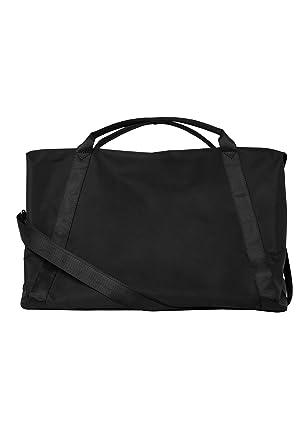 beliebt kaufen 889e8 2c791 HALLHUBER Große Weekender-Tasche schwarz, O.A: Amazon.de ...