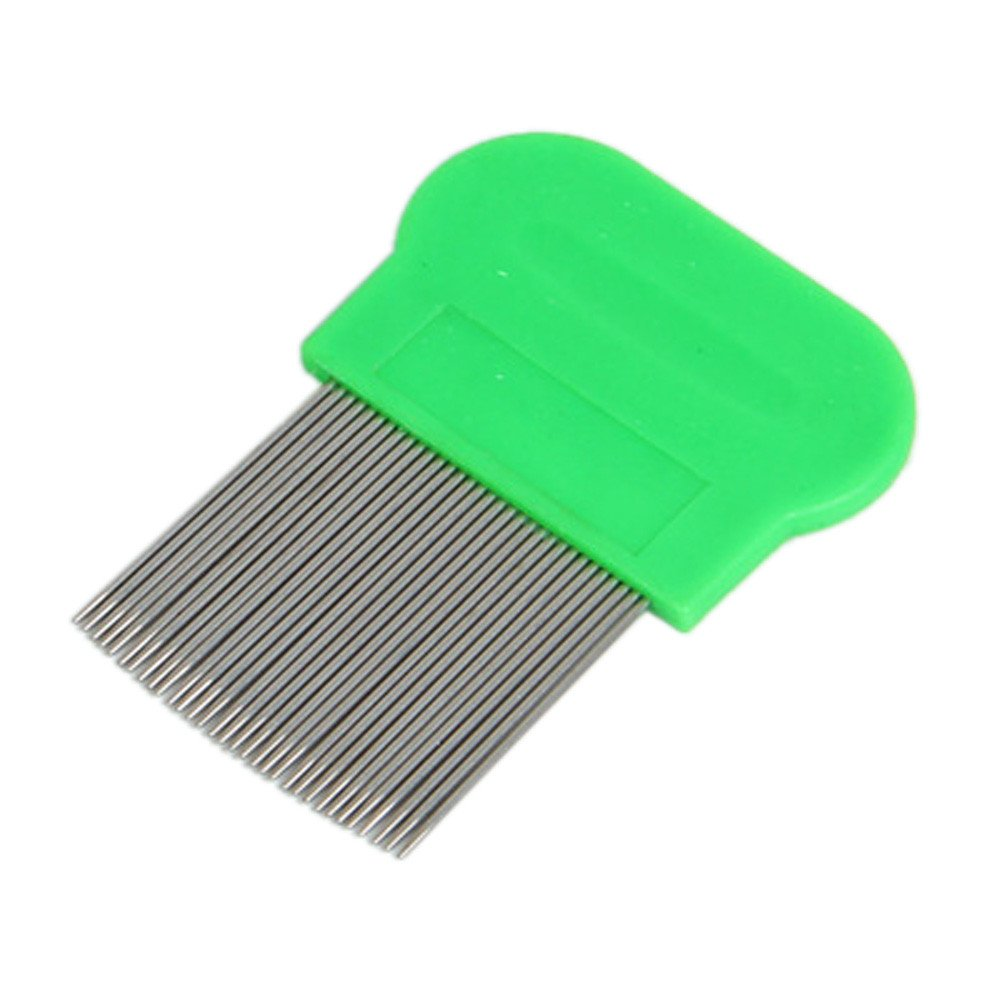 GreatFun Lice Termiator Comb Brushes Fine Egg Dust Nit Free Removal Stainless Steel Hair Accessories