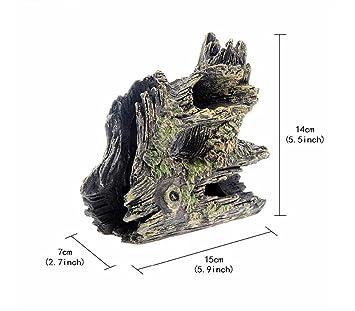 Znyo Pecera de Acuario Ocultar Cueva de Adorno Casa para la cría de camarones Cueva: Amazon.es: Productos para mascotas