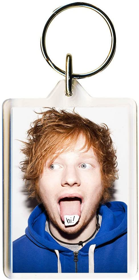 Ed Sheeran #6 Keyring 50mm x 35mm
