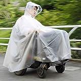 ピロレーシング車椅子レインコート:グレー (XLサイズ:電動車椅子用)
