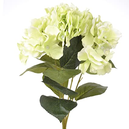 5 Flower Heads 18cm Hydrangea Artificial Fake Flower Bouquet Wedding Home Decor