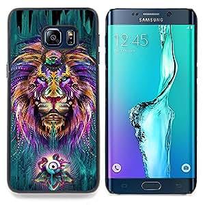 """Planetar ( Hojas jungla Bosque Naturaleza"""" ) Samsung Galaxy S6 Edge Plus / S6 Edge+ G928 Fundas Cover Cubre Hard Case Cover"""