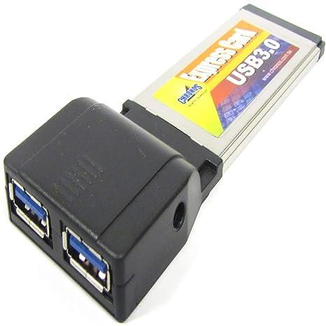 BeMatik - Tarjeta ExpressCard a SuperSpeed USB 3.0 de 2 ...