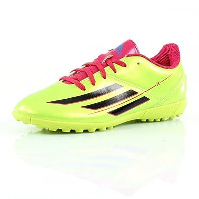 b4e6809117e Adidas F5 TRX TF Junior Astro Turf Trainers Kids Soccer Shoes (UK 4.5 (EURO