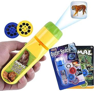 Amazon.es: Wenosda Proyector para niños Lámpara de Linterna ...