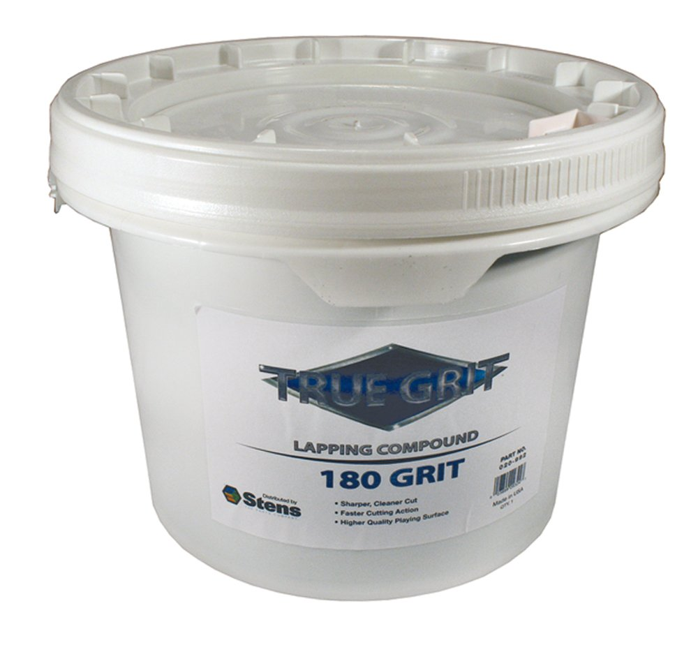 True Grit Lapping Compound, 180 Grit, ea, 1
